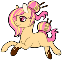 |CLOSED| .:Pocky Pony:. |AUCTION| by WandaAdopts