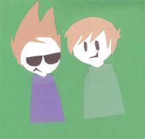 Eddsworld Paper Buddies by xxInvaderDanixx