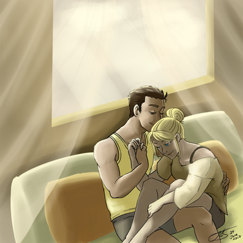 Cozy Room - Beggie - 24 June 2017 by nonecansee