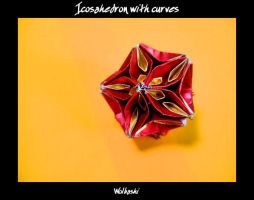 Icosahedron with curves by wolbashi