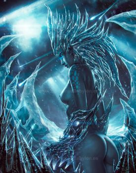 Ice Queen by rafater