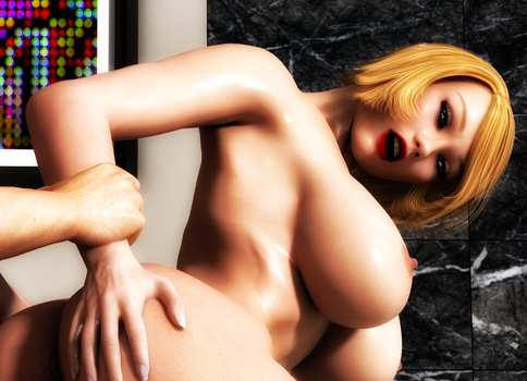 Long Overdue With PowerGirl by ExGemini by Adam-Flame