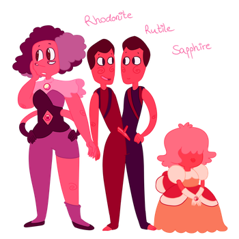 Off Color Gems - Steven Universe by LarasSweets