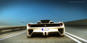 Ferrari rear by wizzoo7