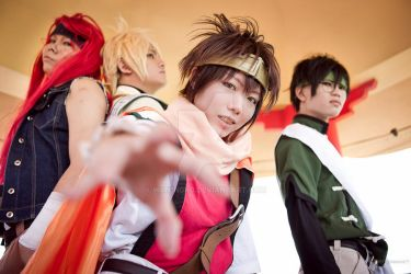 Gensomaden Saiyuki: Take to Fight by w4n1n0k0