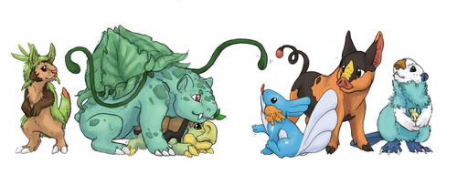 Favourite Starters by GenevieveMeuniere