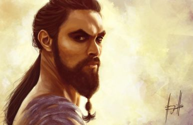 Game of Thrones: Khal Drogo by charychu
