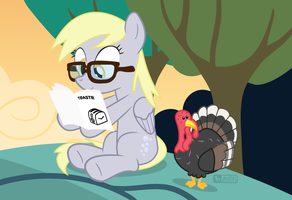 Reading Derpy [!P] by dm29