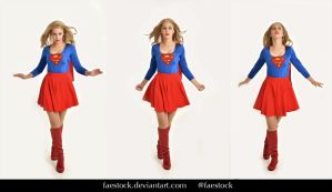 Supergirl  - Stock model reference pack 21 by faestock