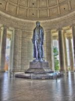 Jefferson Memorial HDR by ProvoAggie