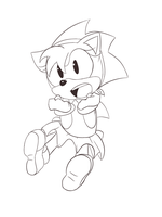 WIP - Classic Amy by SonicHearts