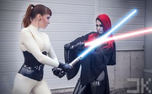 Sith Starfucked VS Jedi Psylocke by Kopp-Photography