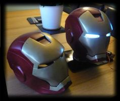 Iron Man helmet for Sale by JonsProjects