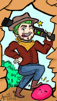 Jacksepticeye the Slime Rancher by TheGreatApril
