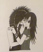 Andy Biersack Kissing Me I by kittykatc666