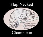 Reptile Buddies Flap Necked Chameleon by UnicronHound