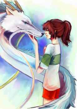 Spirited Away by Silver-Strife-Angel
