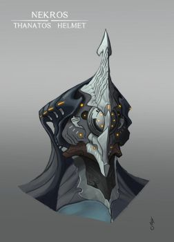 Nekros - Thanatos Helmet by JoseOchoaArt
