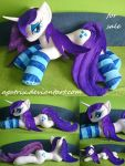 Life size (laying down) Rarity plush SOLD by agatrix