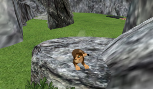 {FH - Maping} Scotis testing the cave by Scotis
