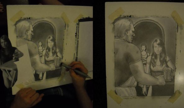 Watching Jeff Draw Stage 4: Smudging by collared-by-faile