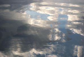 Reflection of the Sky by wafitz