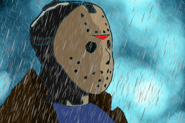 Jason in the Rain by ColtonDHoff
