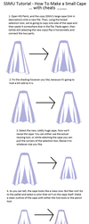 SSMU Tutorial - Making Capes Smaller by JamieMoon