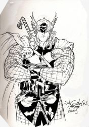 The Mighty Thor by BrenGun
