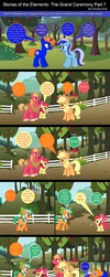 Stories of The Elements: The Grand Ceremony Part 7 by EmoshyVinyl