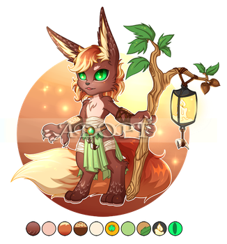 [Adopt OPEN set price $9/900pts] Furry Nature by Ekria