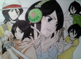 Rukia by Kirval159