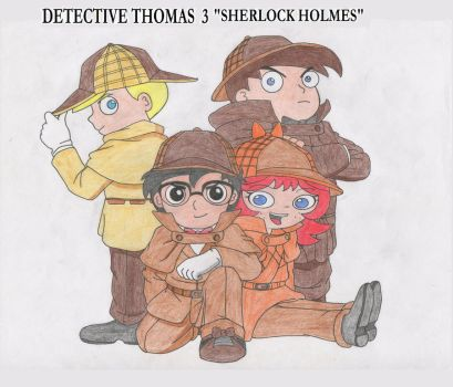 Thomarie-detective-thomas-4 by firerirock