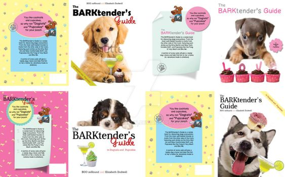 book cover : The BARKtender's Guide by GaGaGakun