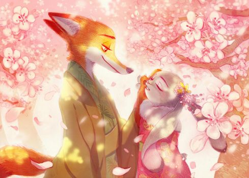 Season of cherry blossoms by n09142
