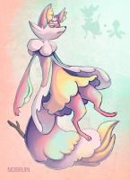 Pokemon fusion - Frillish and Braixen