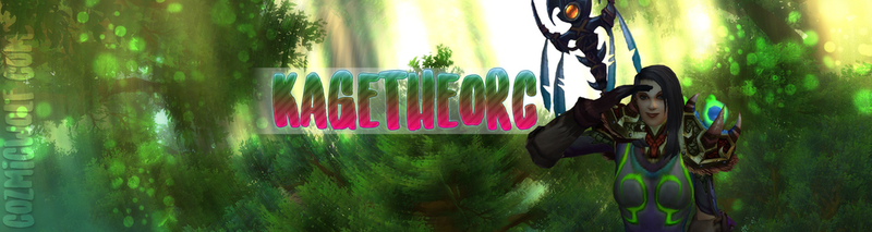Twitter Banner - Kagetheorc by CozmicWolf