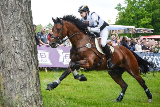 3DE Cross Country Jule Wewer and Lasse by LuDa-Stock