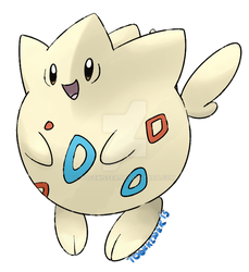 Eggless Togepi by Togekisser