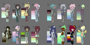 15 point adopts (OPEN) by SubtleBrush