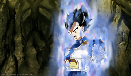 Ultra Instinct Vegeta by HiroshiIanabaModder