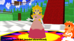 [MMD] Princess Peach 64 (model download) (UPDATE) by VOCAD