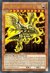 [EDITED]The Winged Dragon of Ra by grezar