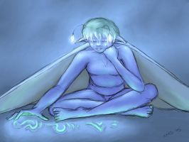 Blue Fairy by gusdefrog