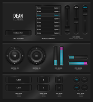 GUIFX Elements Pack 'Dean'. by PureAV