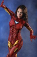 Ironman Bodypainting by bodypainter1