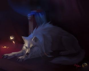 Fog is wolf by Orphen-Sirius