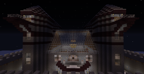 Minecraft Castle in the Snow Update Finnel picture by seth243