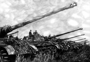 Panzer battalion by the-ChooK