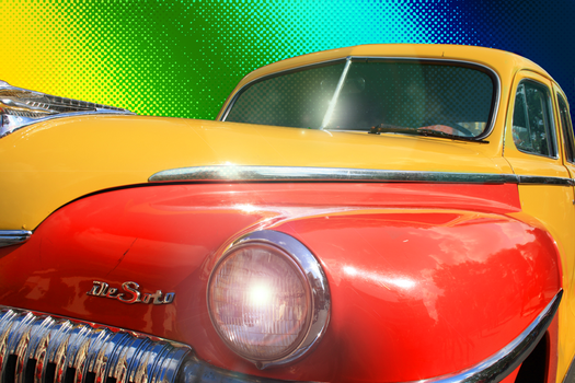 Oldtimer Rainbow by corvintaurus